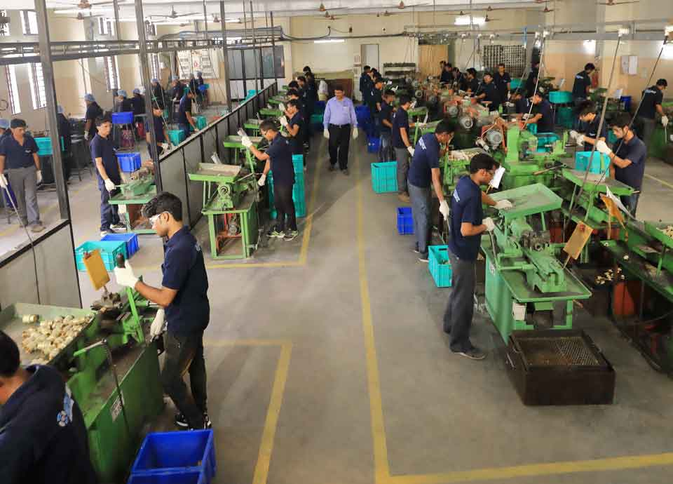cable gland manufacturing plant overview