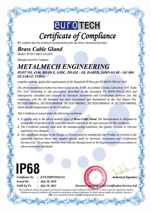 erotech certification ip68
