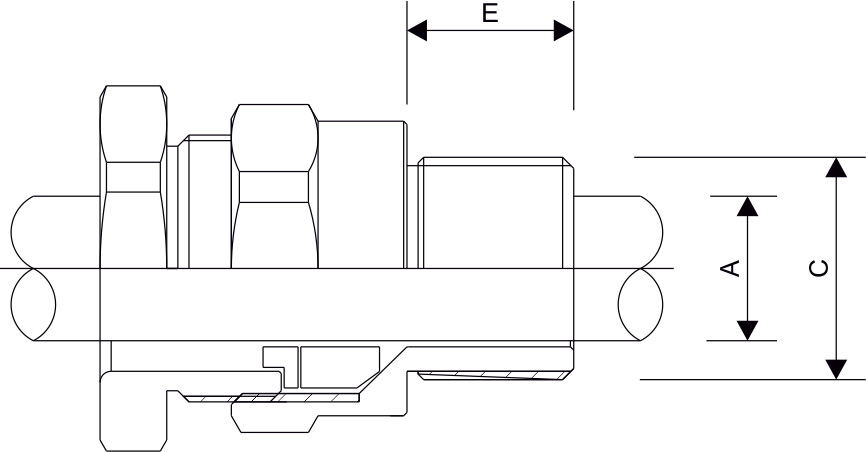 A1 A2 Type Cable Gland Diagram