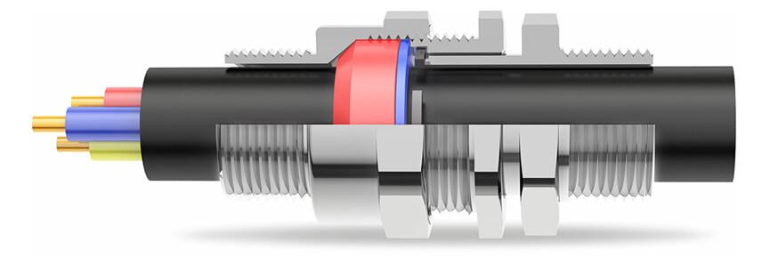 A2FPM Cable Gland 3D Diagram