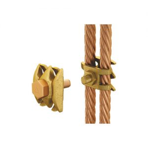 Clamping Two Cables to Flat Bar Manufacturer