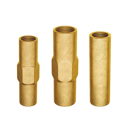 Coupling for earth rod