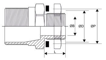 Cylindrical Cable Gland Thread Specification