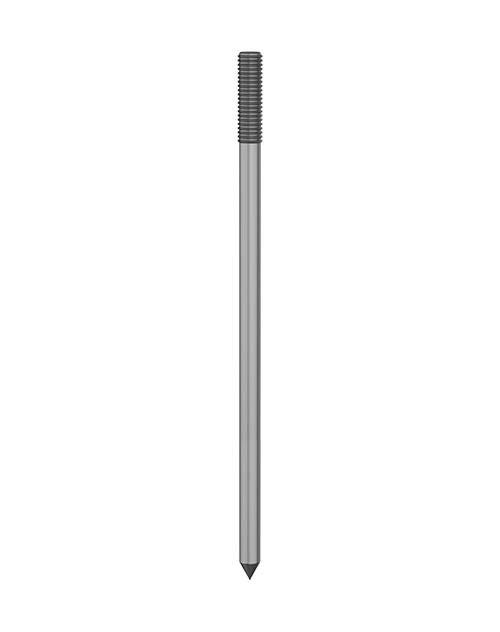 Hot Dip Galvanised Steel Earth Rods