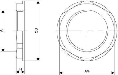 Lock Nut Collar Type Diagram