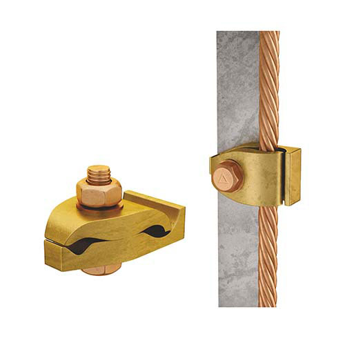 Tower Earth Clamp Double Plate