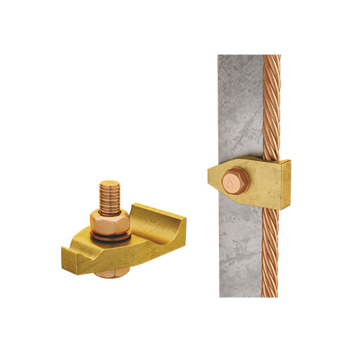 Tower Earth Clamp Single Plate Manufacturer